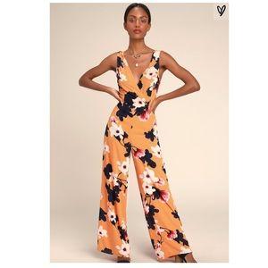 Orange flowery jumper!!
